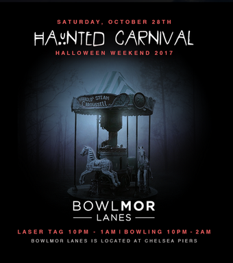 Haunted Carnival at Bowlmor Lanes