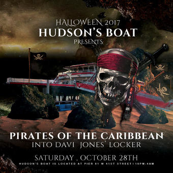 Pirates of the Caribbean: Davy Jones Yacht Party