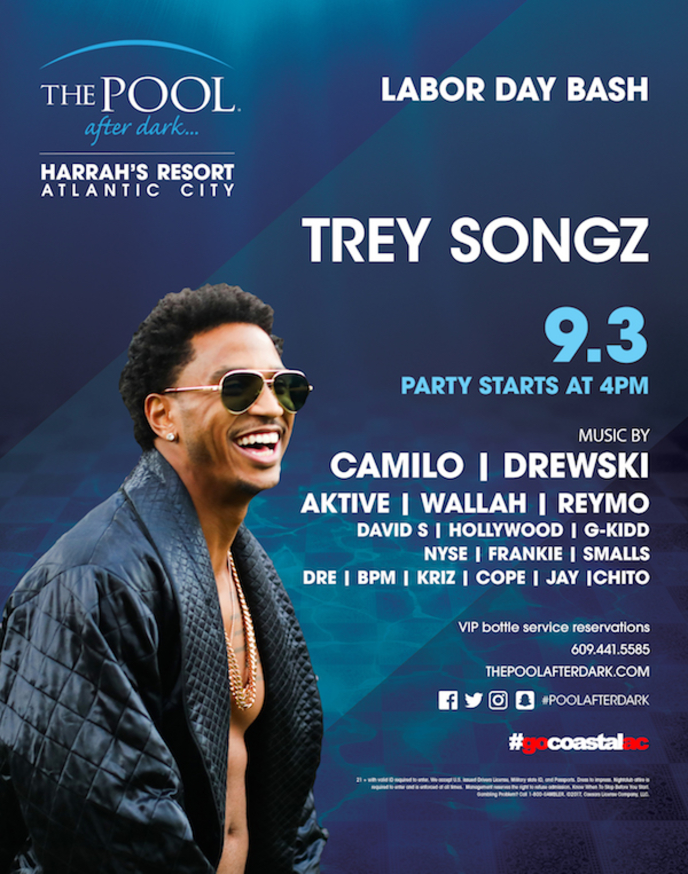 Labor Day Bash Hosted By Trey Songz Tickets The Pool After Dark