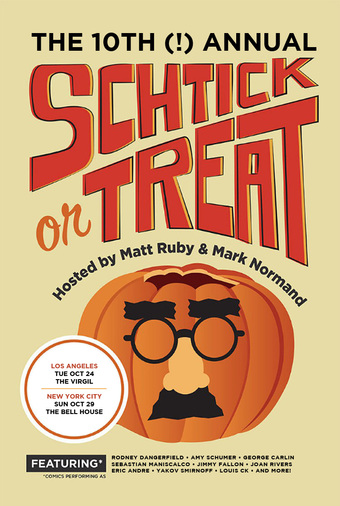 The TENTH Annual Schtick or Treat