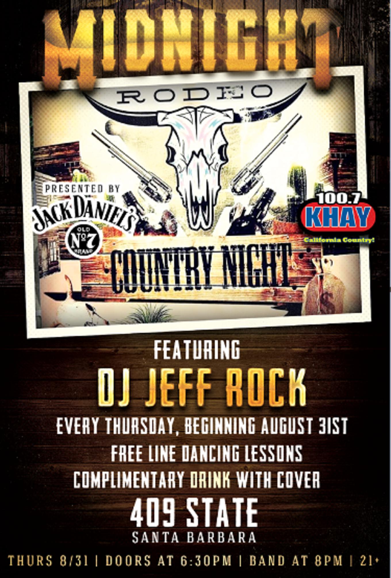 Midnight Rodeo Country Nights M8rx Nightclub Lounge