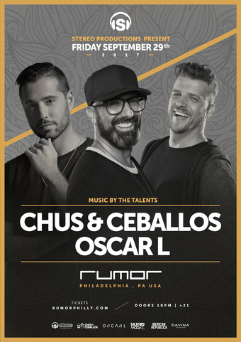 Chus + Ceballos pres. Stereo Productions at Rumor