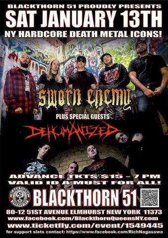 SWORN ENEMY W/ DEHUMANIZED