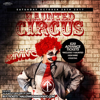 Haunted Circus at The Attic Rooftop