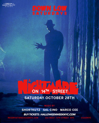 The NightMare on 14th street Up &  Down (Down Stairs)