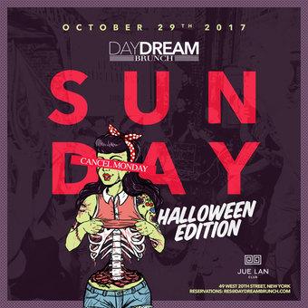 Day Dream Brunch Halloween Edition 2017