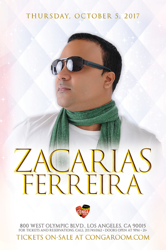 Conga Room presents Zacarias Ferreira