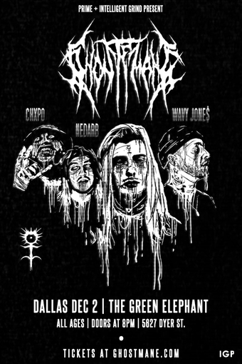 GHOSTEMANE  Dallas