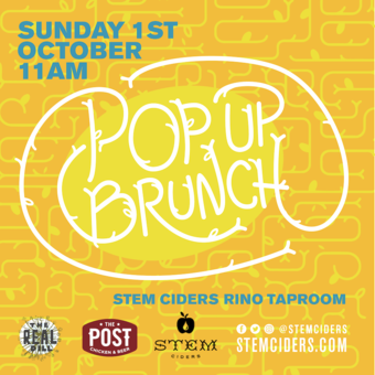Stem Ciders Pop-up Brunch with The Post + The Real Dill