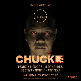 Halloween with DJ Chuckie at The Gallery Dream Downtown