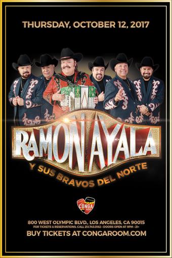 Conga Room presents Ramon Ayala y Sus Bravos del Norte