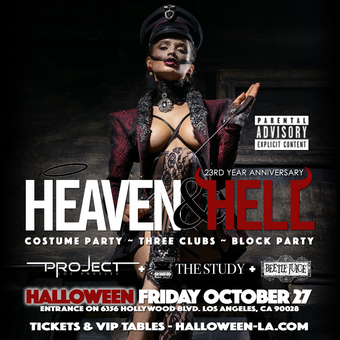 23rd Annual Heaven & Hell Halloween Party