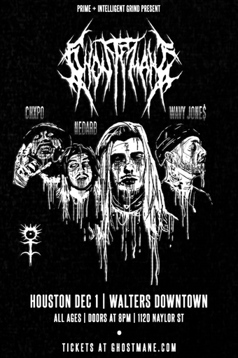 GHOSTEMANE  HOUSTON