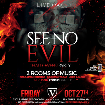 See No Evil Halloween Party (18+)