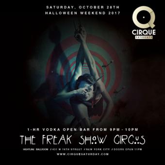 Freakshow Circus at Highline Ballroom