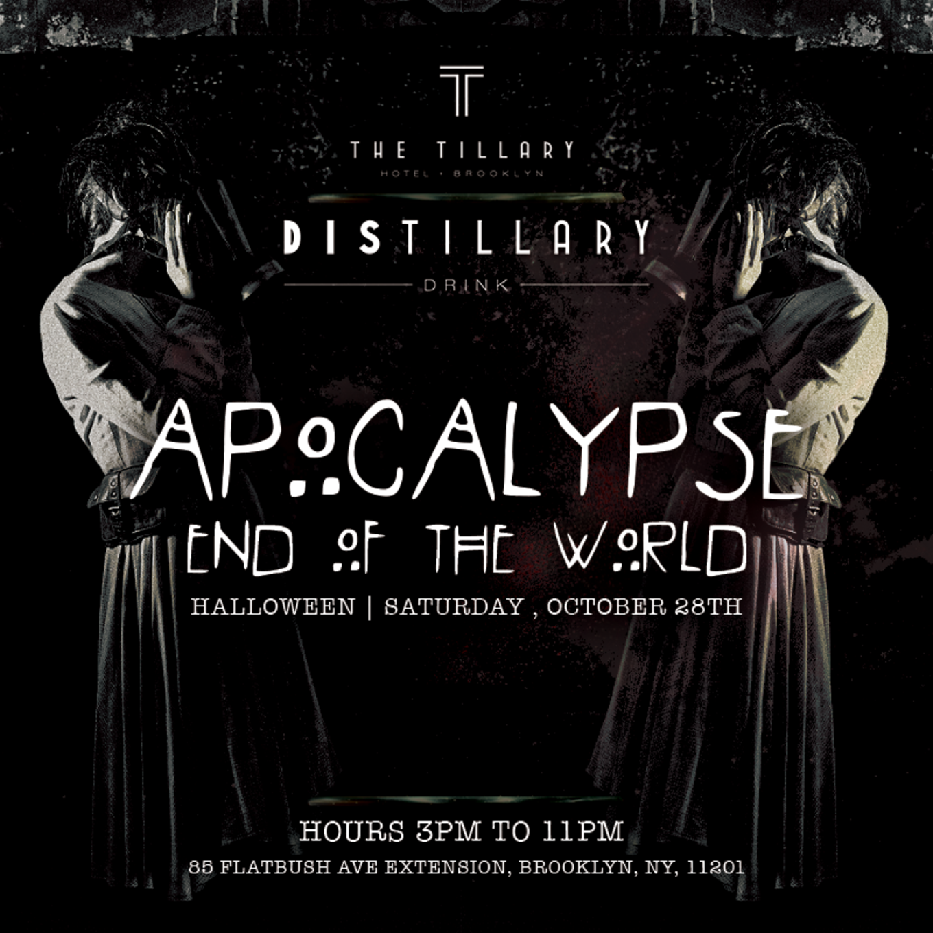 apocalypse end of the world halloween party - Brooklyn Halloween Party