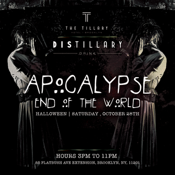 Apocalypse End of the World Halloween Party