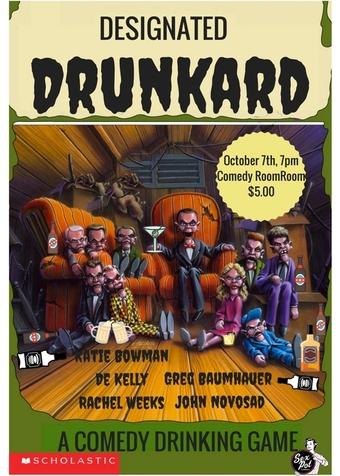 Designated Drunkard October