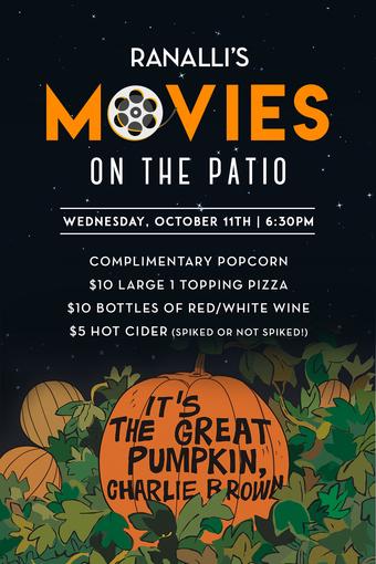 Ranalli's Movie on the Patio!