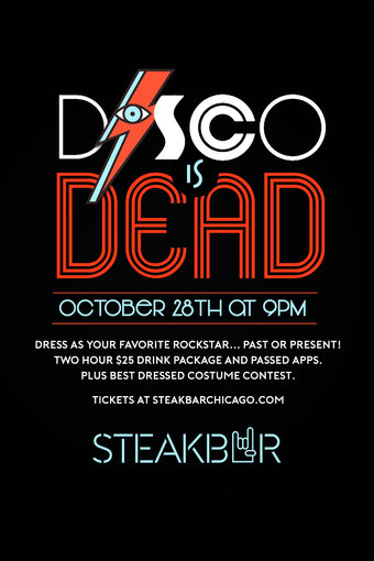 Disco is Dead Halloween Party!