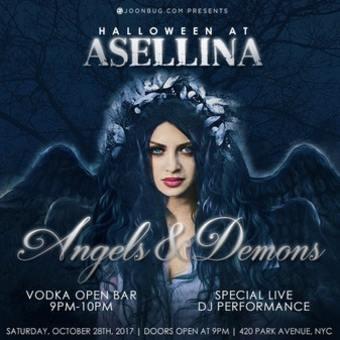 Halloween at Asellina Angels & Demons