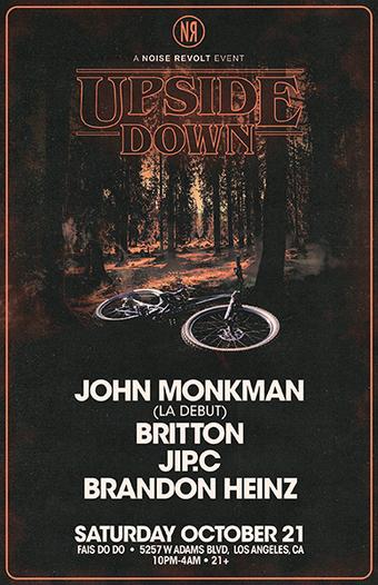 Noise Revolt Presents: Upside Down Ft. John Monkman