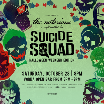 Suicide Squad Halloween at The Notorious