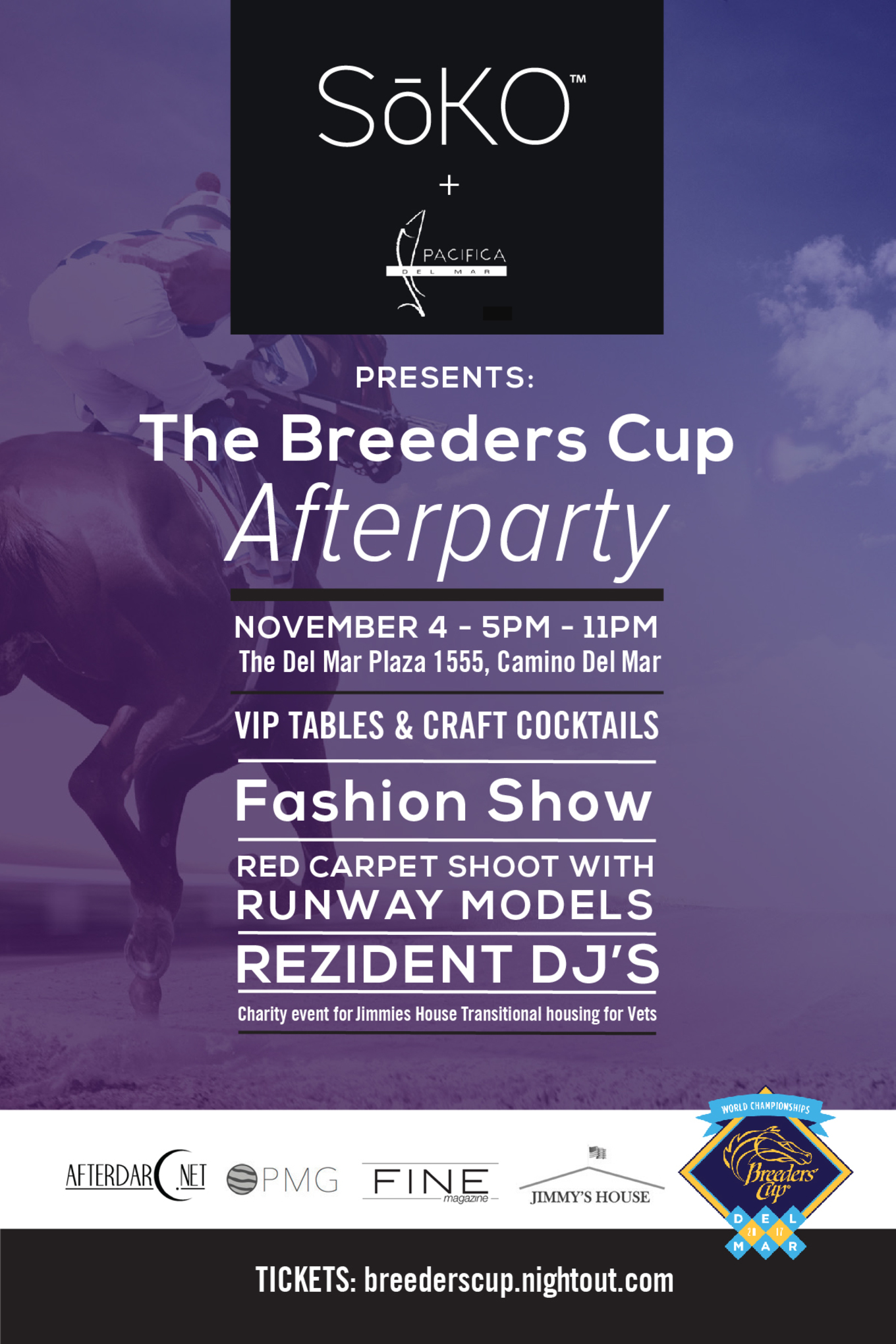 Soko Presents The Breeders Cup Afterparty Tickets