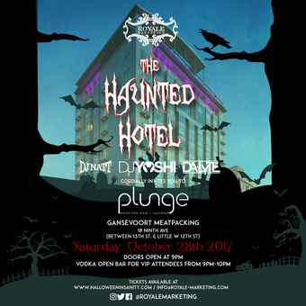 Halloween At The Haunted Hotel -Gansevoort Meatpacking