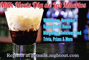 Milk Meets Dia de Los Muertos