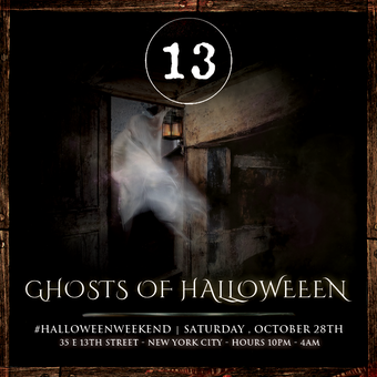 13 Ghosts of Halloween at Bar 13