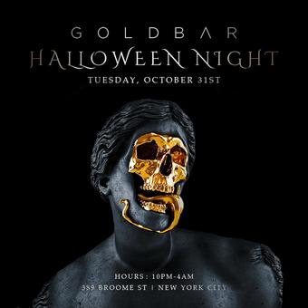 Golden Skulls Halloween at Goldbar