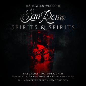 Spirits and Spirits at San Remo