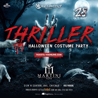 Halloween Costume Party @ Martini