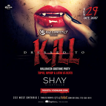 Dressed to Kill - SHAY Nightclub