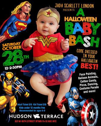 A Halloween Baby Bash