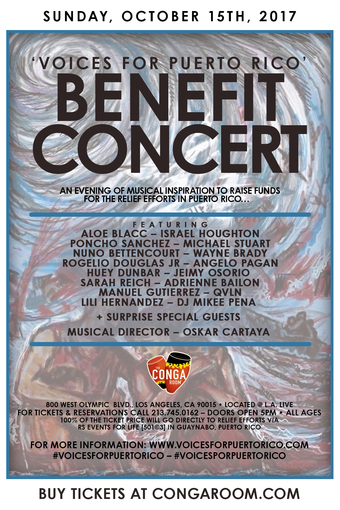 Voices For Puerto Rico Benefit Concert Tickets