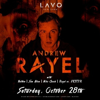 Andrew Rayel at LAVO Halloween Weekend