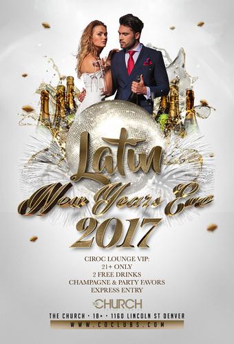 Latin New Years Eve 2017