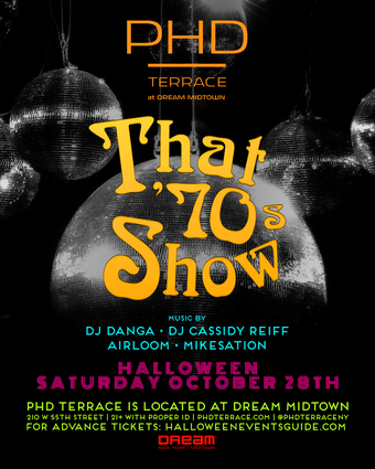 That 70's Show Halloween at PHD Terrace