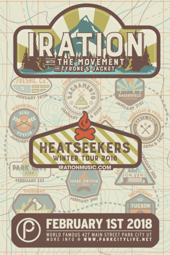 Iration : Heatseekers Winter Tour 2018