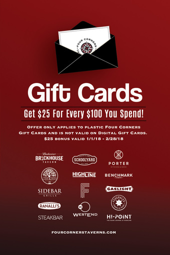 Holiday Gift Cards - Ranalli's