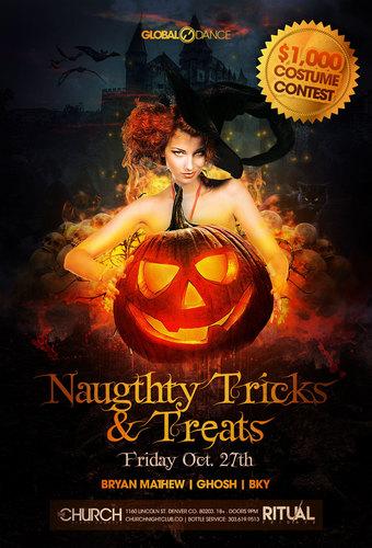 Naughty Tricks & Treats