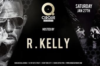 R Kelly at Highline Ballroom 1/27