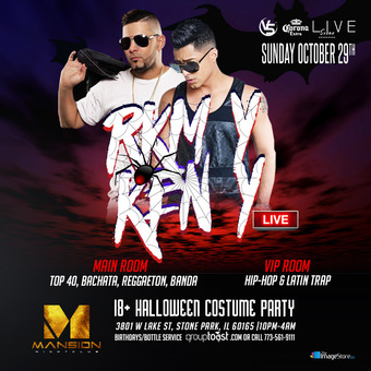 RKM Y KEN Y HALLOWEEN COSTUME PARTY