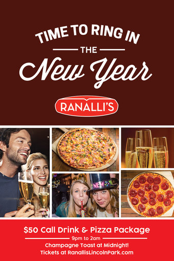 Celebrate NYE 2018 at Ranalli's in Lincoln Park