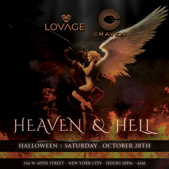 Heaven and Hell Halloween Dual Pass