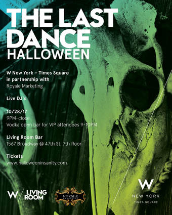 The Last Dance Halloween at W Hotel - Living Room