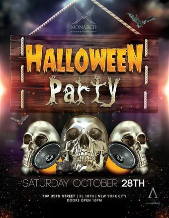 Monarch Halloween Party 10/28