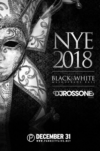 NYE 2018 : Black & White Masquerade